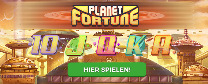 Spielen Sie Planet Fortune bei Mr Green