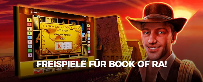 Freispiele Book of Ra