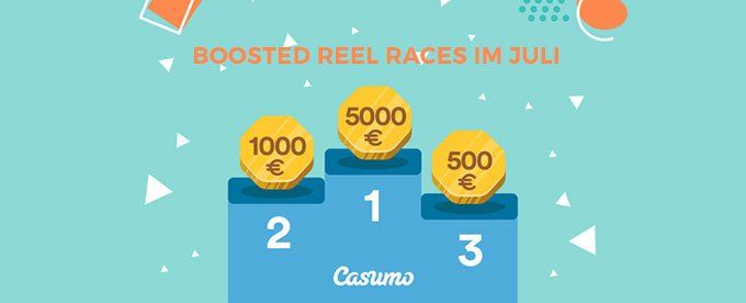 Boosted Reel Races bei Casumo